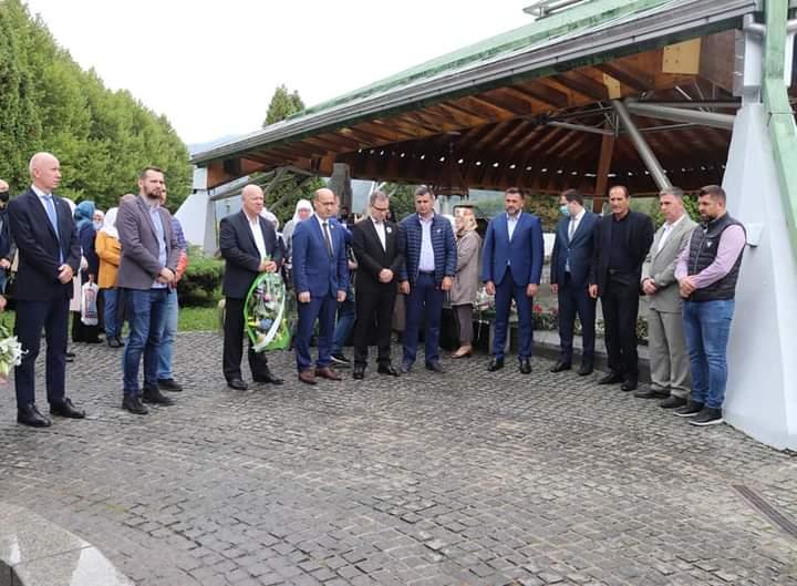 Salkić prisustvovao obilježavanju 18. godišnjice zvaničnog otvaranja Memorijalnog centra Srebrenica